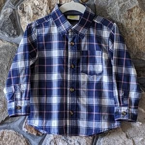 Other - Crazy 8 - Plaid Button Up Shirt